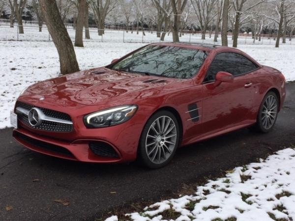 Showcase cover image for 2017 Mercedes SL 450