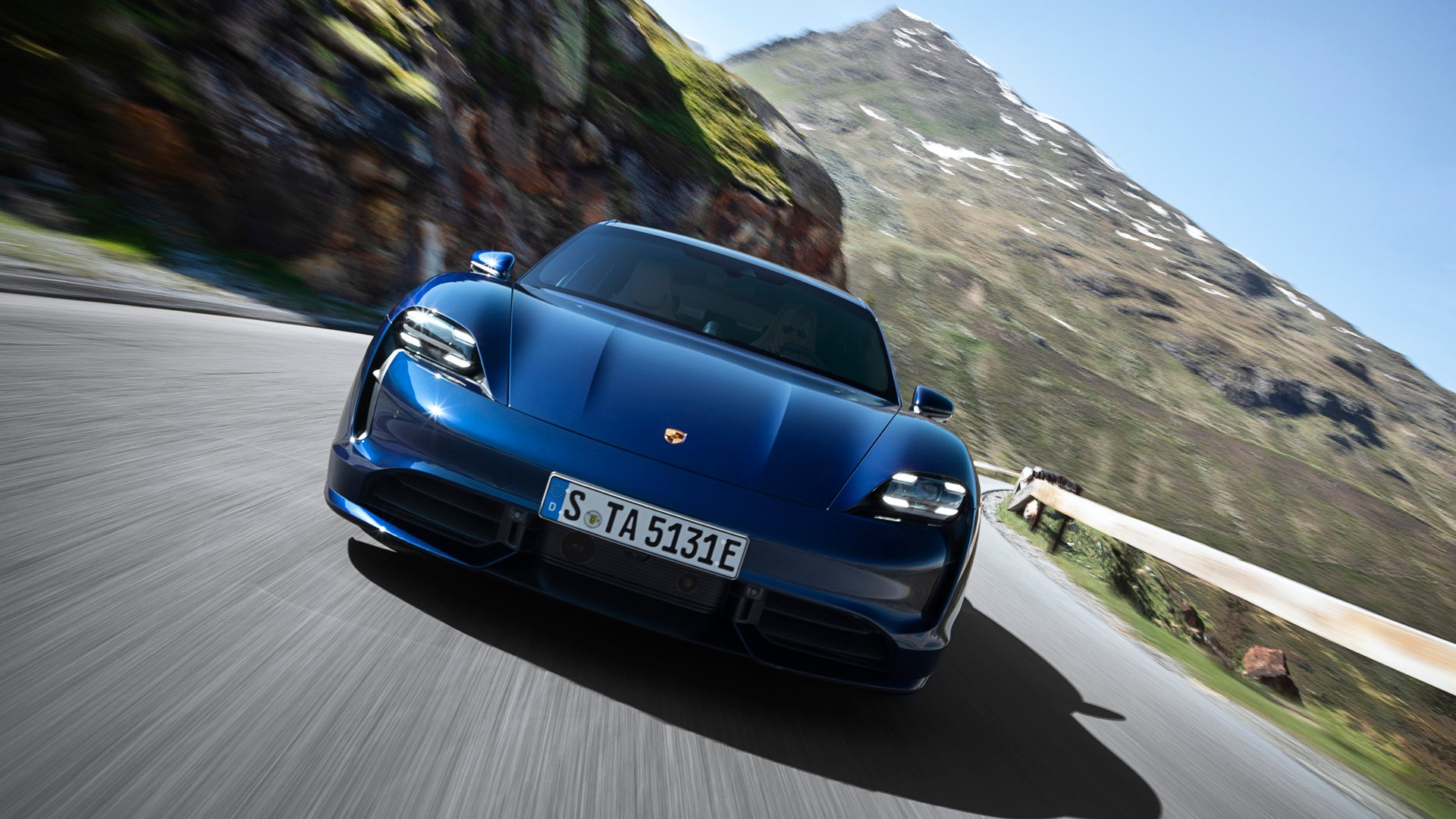 Showcase cover image for 2020 Porsche Taycan
