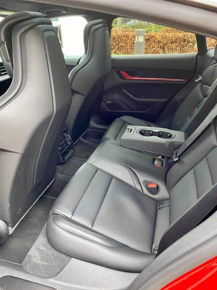 Taycan Rear Seat Options Taycan Forum