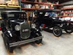 1919 Ford Model T and 1931 Ford Model A