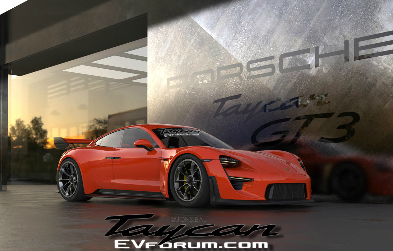 porsche taycan gt3: is this it? - porsche taycan forum